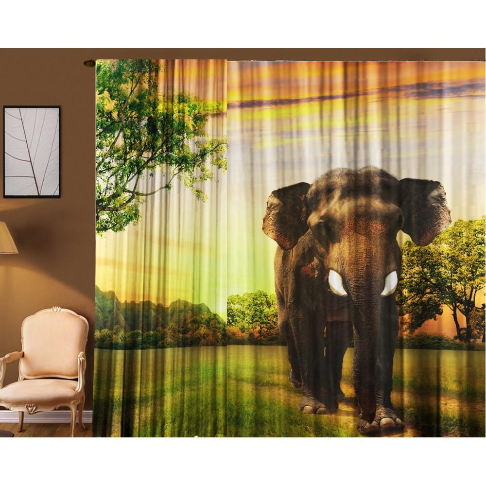 Тюль Слон 290*270 см