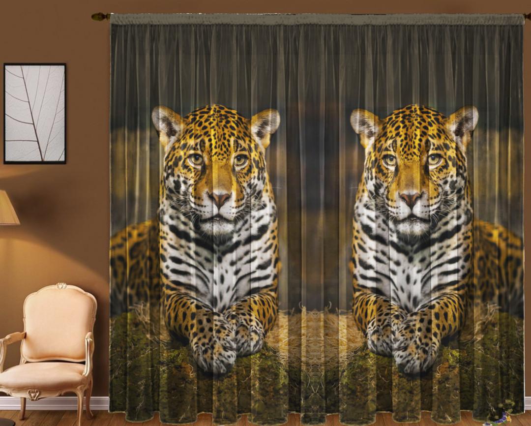 Тюль Леопард 290*270 см