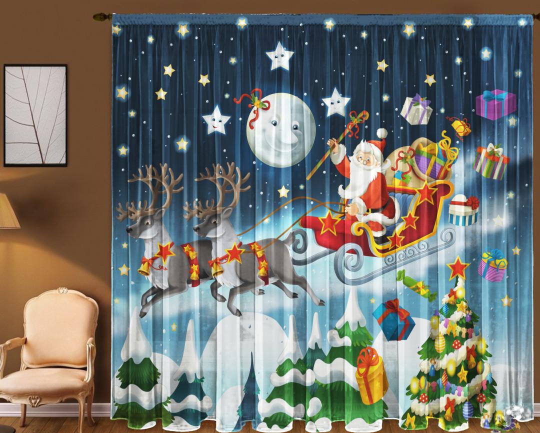 Тюль Санта-Клаус 290*270 см