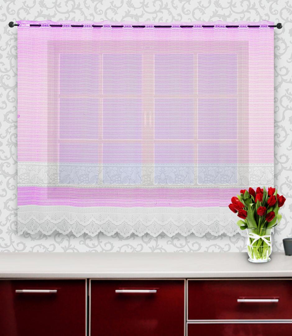 Гардина 88844 розовый 160*245 см