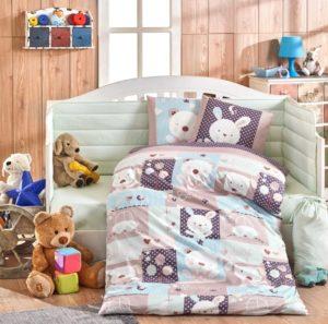 Набор детский с одеялом ясли Hobby Home Snoopy минт
