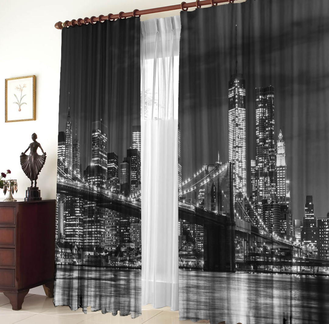 Комплект штор Бруклинский мост