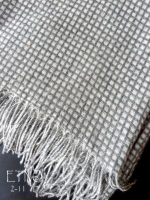 Плед Drobe Etno 2-11 с кистями Литва 140*200 см