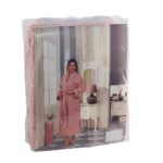 Махровый халат Basic розовый разм.XL
