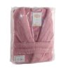 Махровый халат Basic розовый разм.L