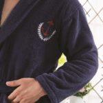 Набор Махровый халат+полотенце Marine разм.3ХL