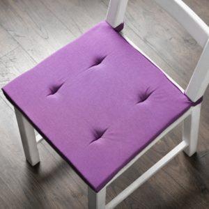 Комплект подушек для стула Билли 37х42 см Фиолетовый