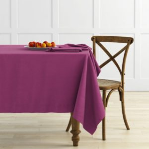 Комплект скатертей  Ибица  D145 см Фиолетовый
