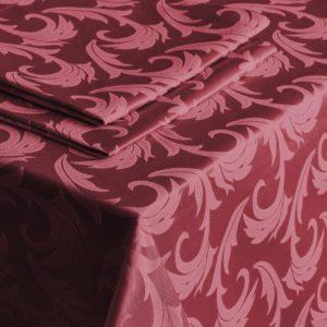 Скатерть   Малия  D145 см Бордовый