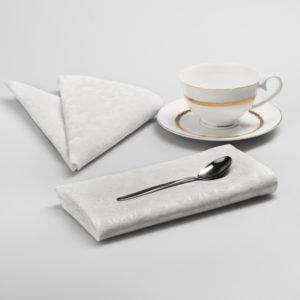Комплект салфеток Донна 2 43х43 см Белый