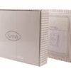 Скатерть KARNA с вышивкой  HONEY 160x220 см Серый