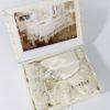 Скатерть  с раннером  FINEZZA ISABELLE 170x240 см-Скатерть прямоугольная-Кремовый