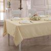Скатерть  жаккард cotton LINEN 160x270 см  V1