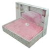 Простынь бамбуковая  PUPILLA  ROSE 200x220 см  Розовый