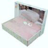 Простынь махровая  PUPILLA  SORTI 200x220 см  Сиреневый