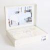 Скатерть  с органзой YASMIN 160x220 см  Кремовый