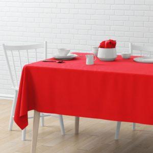 Скатерть  Билли 145х170 см Красный