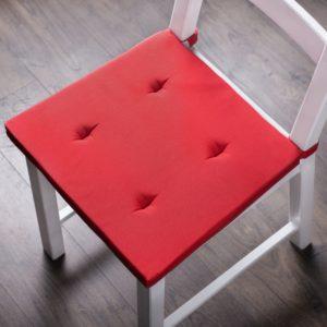 Комплект подушек для стула Билли 37х42 см Красный