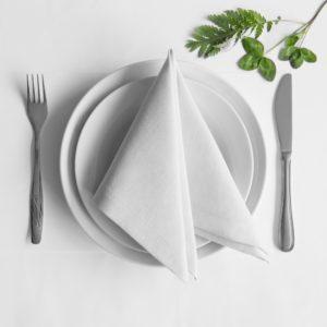 Комплект салфеток  Билли  38х38 см Белый