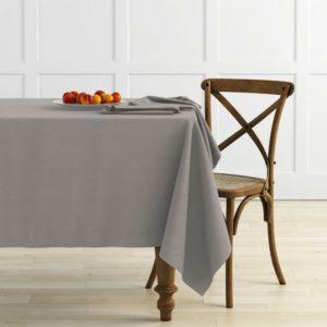 Комплект скатертей Ибица 145х145 см Бежево-серый