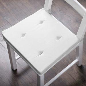 Комплект подушек для стула Билли 37х42 см Белый