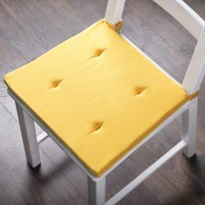 Комплект подушек для стула Билли 37х42 см Желтый