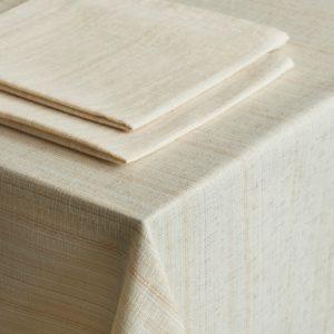 Комплект скатертей Леонардо D145 см Кремовый