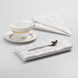 Комплект салфеток Малия 43х43 см Белый