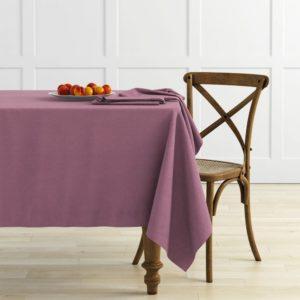 Комплект скатертей Ибица 145х145 см Сиреневый