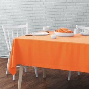 Скатерть  Билли 145х170 см Оранжевый
