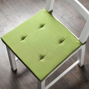 Комплект подушек для стула  Билли  37х42 см Травяной