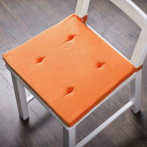 Комплект подушек для стула Билли 37х42 см Оранжевый
