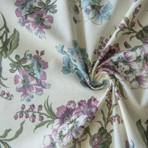 Декоративная ткань Ларгос 180 см Голубой
