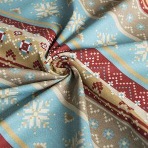 Декоративная ткань Уолис 180 см Синий