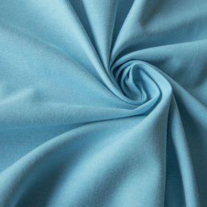 Декоративная ткань Билли 180 см Небесно Голубой