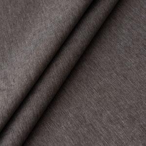 Негорючая декоративная ткань Эклипсо 290 см Серо Коричневый
