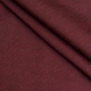 Негорючая декоративная ткань  Эклипсо  290 см Бордовый