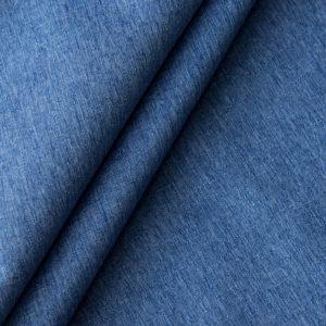 Негорючая декоративная ткань Эклипсо 290 см Синий
