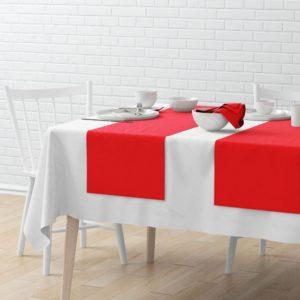 Комплект дорожек Билли 40х150 см Красный