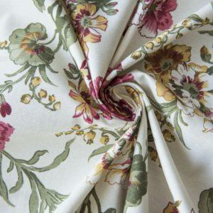 Декоративная ткань Ларгос 180 см Красный