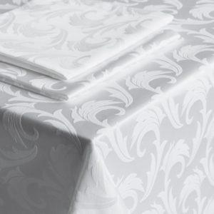 Скатерть  Малия D145 см Белый