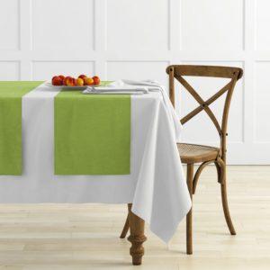 Комплект дорожек  Ибица  45х145 см Зеленый