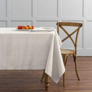 Комплект скатертей  Ибица  145х195 см Кремовый