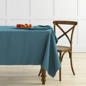 Комплект скатертей  Ибица  145х145 см Голубой