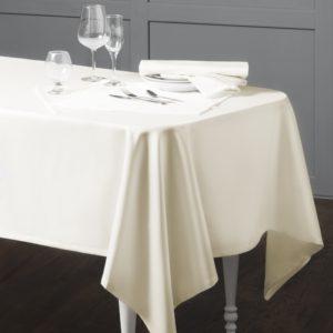 Комплект тефлоновых скатертей Марио 145х145 см Сливочный