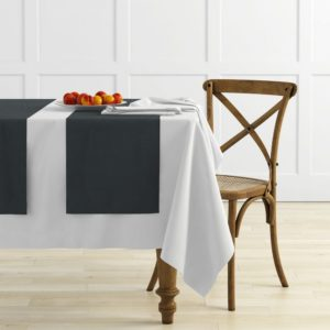 Комплект дорожек Ибица 45х145 см Темно-серый