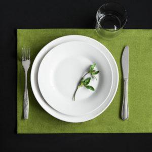 Комплект сетов Ибица 28х43 см Зеленый