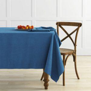 Комплект скатертей  Ибица  145х195 см Синий