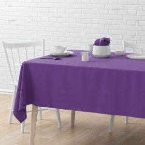 Скатерть  Билли D170 см Фиолетовый