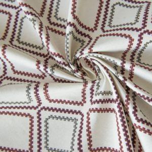 Декоративная ткань Сеймур 180 см Красный